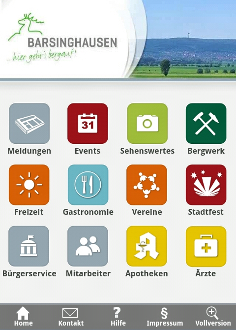 mobileVersion © Stadt Barsinghausen