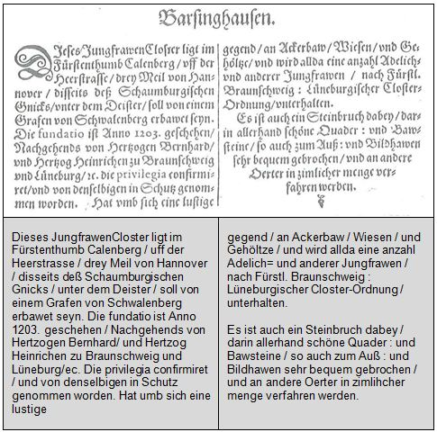 Barsinghausen Merian: 02 Merian Beschreibung©Stadt Barsinghausen