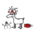 Weihnachten - Weihnachtskinderhirsch©Stadt Barsinghausen